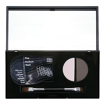 Hi Brow 24hr Brow Powder Compact - Light Grey