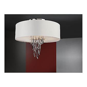 Lámpara de techo de Schuller Domo 4L, Chrom