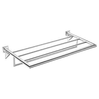 Pomd'or Chrome heated towel rack Cm 60X27X9