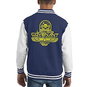 Alien Varsity Jacket USCSS Pacto infantil