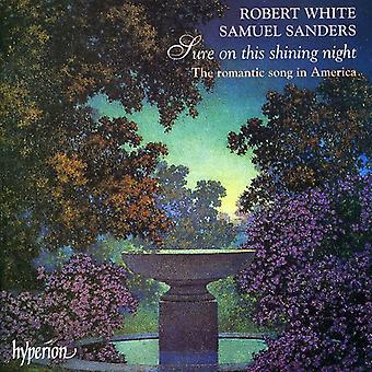 Robert White - que en esta noche brillante [CD] Estados Unidos de importación