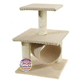 Classic For Pets TwoTier Scratch Deck600mm (Cats , Toys , Scratching Posts)