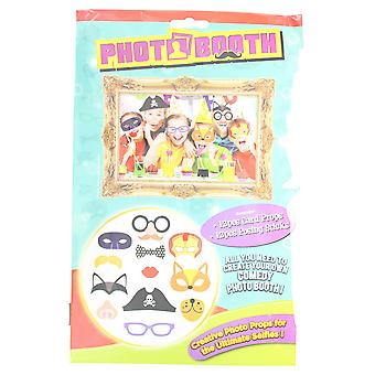 Photo Booth Kids Pack Of 12 Selfie Fun Party Props With Sticks
