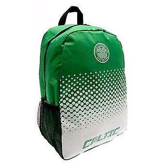 Celtic FC Official Fade Football Crest Design Backpack