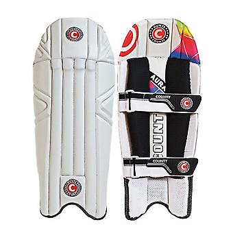 Hunts County AURA Wicket Keeping Pads Youths
