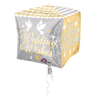 Amscan bröllop önskar Supershape Diamondz ballong