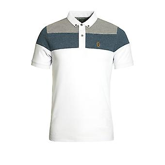 LUKE SPORT Mickey Spacers Polo Shirt Lux White