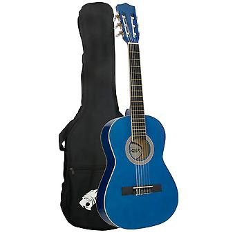 Tiger Childrens 1/2 Size Classical Guitar Package - Blue