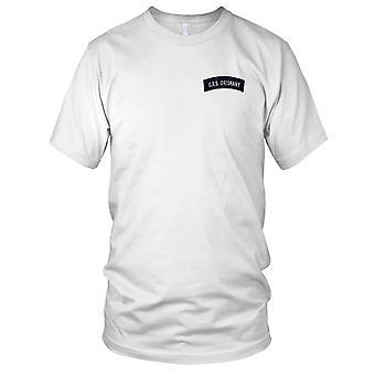 US Navy CVA-34 USS Oriskany Shoulder Rocker Embroidered Patch - Ladies T Shirt