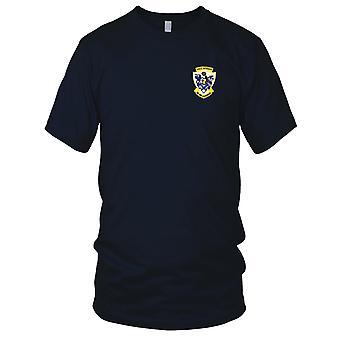 E.U. da Marinha USS DD-784 Mckean bordada Patch - Mens T-Shirt