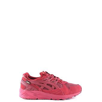 ASICS women's MCBI028001O red suede of sneakers