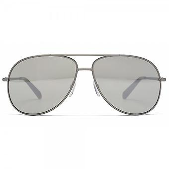 Marc Jacobs Pilot Sunglasses In Silver Mirror