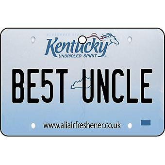 Kentucky - la mejor licencia de tío placa ambientador