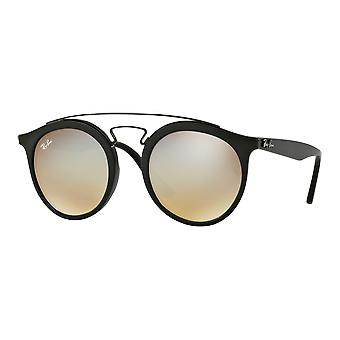 Ray - Ban Gatsby I Large black matte silver mirrored gradient