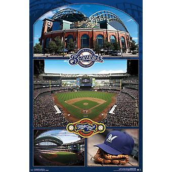 Milwaukee Brewers - Miller Park 16 Poster Poster Print