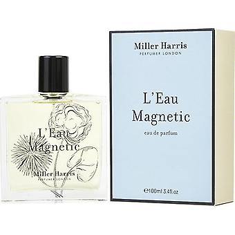 L'Eau Magnetic By Miller Harris Eau De Parfum Spray 3.4 Oz