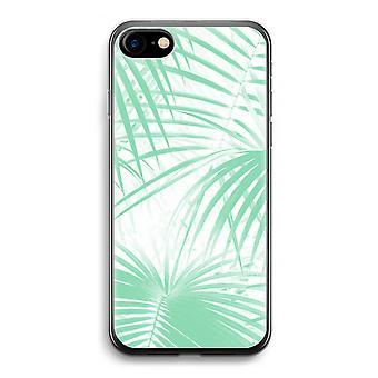 iPhone Case 7 Transparent (weich) - verlässt Palm