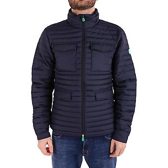 Save the duck men's D3335MRECY60146 Blau polyester Quilted Jacket