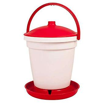 Gaun Plastic Drinker for Birds 6 Lts. (Birds , Chickens , Feeders and drinkers)