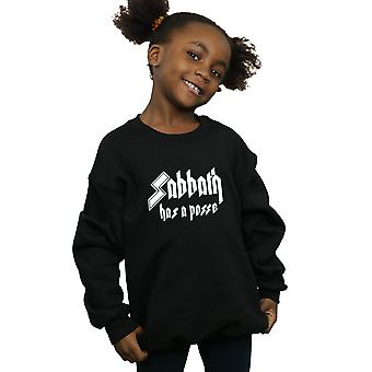 Black Sabbath Girls Has A Posse Sweatshirt