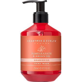Crabtree & Evelyn Pomegranate & Argan Oil Conditioning Hand Wash