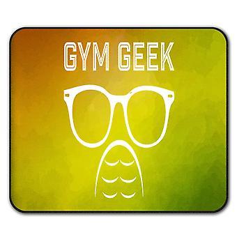 Geek Gym Fitness Sport  Non-Slip Mouse Mat Pad 24cm x 20cm | Wellcoda