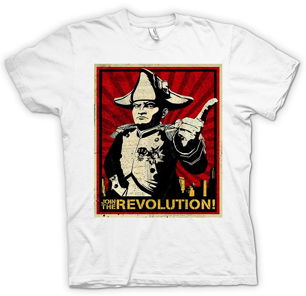 Womens T-shirt - Napoleon - Join The Revolution