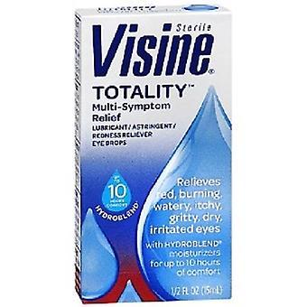 Visine totaliteten multi symptomlindring øyedråper