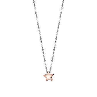ESPRIT kids chain jw50207 silver Rosé flower ESNL92740B340