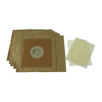 Proaction CJ718 Vacuum Cleaner Paper Dust Bags