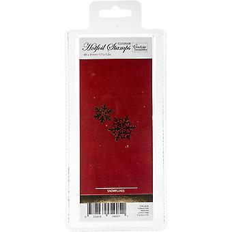Couture Creations Let Every Day Be Christmas Hotfoil Stamp-Snowflakes 1.7