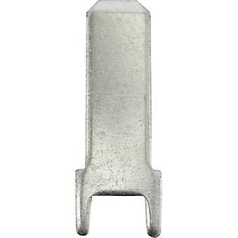 Connecteur de Vogt Verbindungstechnik 3825z.68 lame largeur connecteur: 4,8 mm connecteur épaisseur: 0,8 mm 180 ° ne pas isolé métal 100 PC (s)