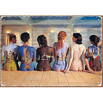Pink Floyd Backart Metal Sign