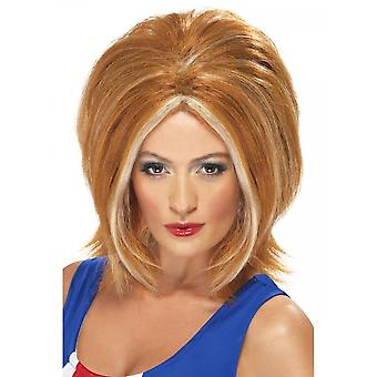 Union Jack Wear Ginger Spice Wig