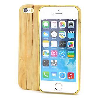 Apple iPhone 8 plus TPU Mobile Shell træ optik beskyttelse sag vintage dække