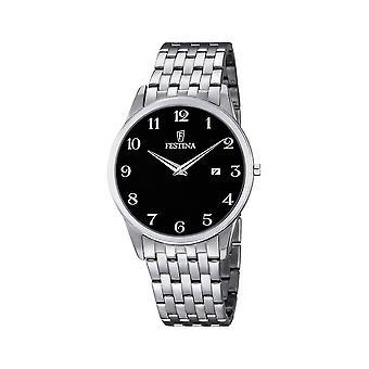 Festina - Armbanduhr - Herren - F6833-4 - Stahlband klassisch - Klassik