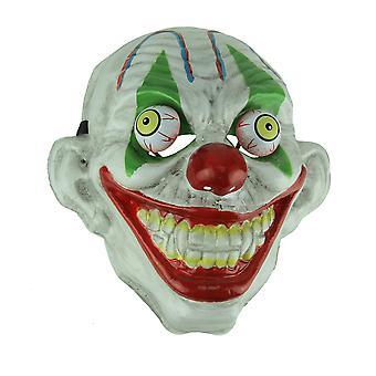 Oeil vert vieux regard effrayant Googly Eyed masque de Clown