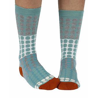 Eva women's super-soft bamboo crew socks in sage | By Thought
