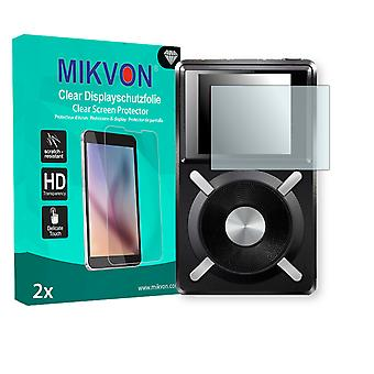 Fiio X5 Screen Protector - Mikvon Clear (Retail Package with accessories)