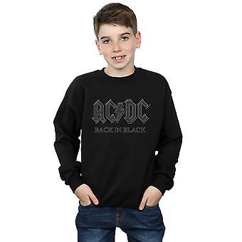 AC/DC Boys tillbaka i svart tröja