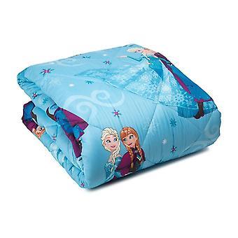 Duvet Microfiber Bed and half Frozen Crystal Disney
