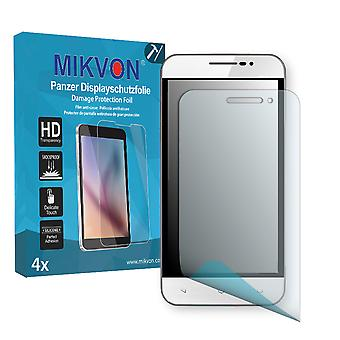 Coolpad Porto Screen Protector - Mikvon Armor Screen Protector (Retail Package with accessories)