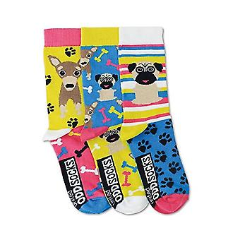 United Oddsocks Pug Girls Socks Girls Gifts