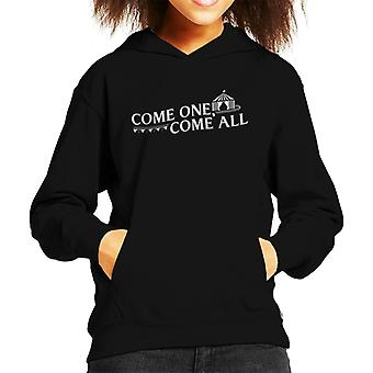 The Greatest Showman Come One Come All Big Top Kid's Hooded Sweatshirt