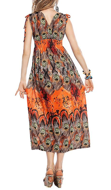 Waooh - Fashion - Dress Peacock Print