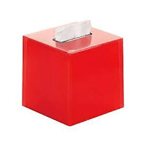 Gedy Rainbow Square Tissue Box Red RA02 06