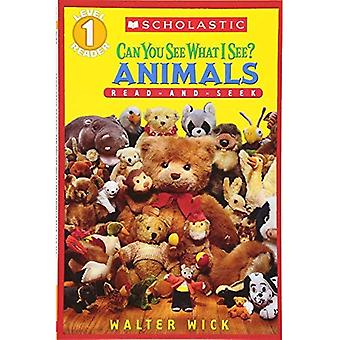 Animals: Read-And-Seek Level 1 (Can You See What I See?)