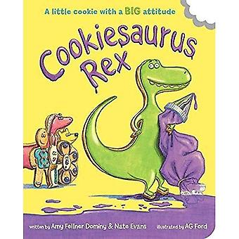 Cookiesaurus Rex [Board book]