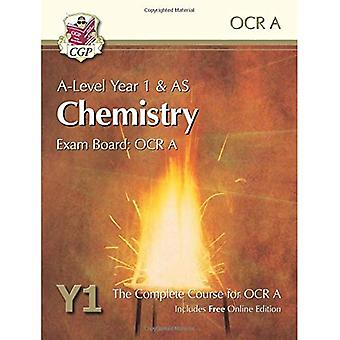 New 2015 A-Level Chemistry for OCR A: Year 1 & AS Student Book with Online Edition