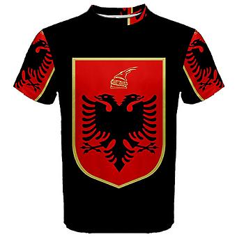 Albania Coat of Arms Sublimated Sports Jersey